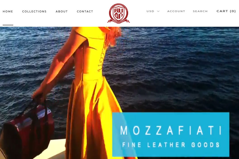 Mozzafiati website