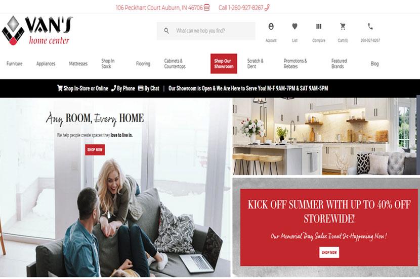 Van's Website